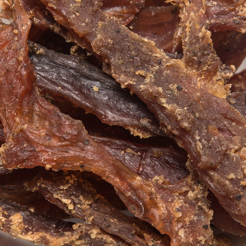 (Pack of 6) 100 Calories SPICY AFRICAN CATFISH JERKY by Calsway
