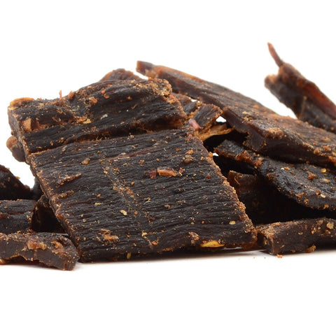 (Pack of 6) 100 Calories BLACK PEPPER Taste ALPINE BEEF Jerky by Calsway