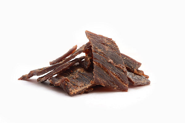 (Pack of 6) 100 Calories TERIYAKI taste ALPINE BEEF JERKY by Calsway