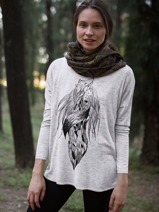 Long Sleeve - Wolf & Woman