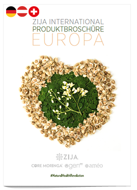 Zija International Produktbroschüre Europa