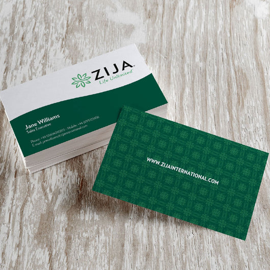 Zija Business Card