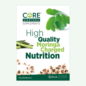 Core Moringa® A1 Brand Poster - DIGITAL DESIGN FILE