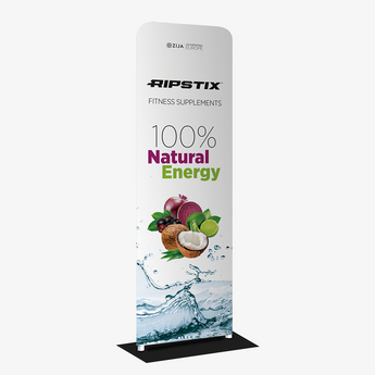 Ripstix® Fabric Tube Stand Banner