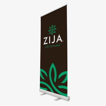 Zija Event Banner - Black