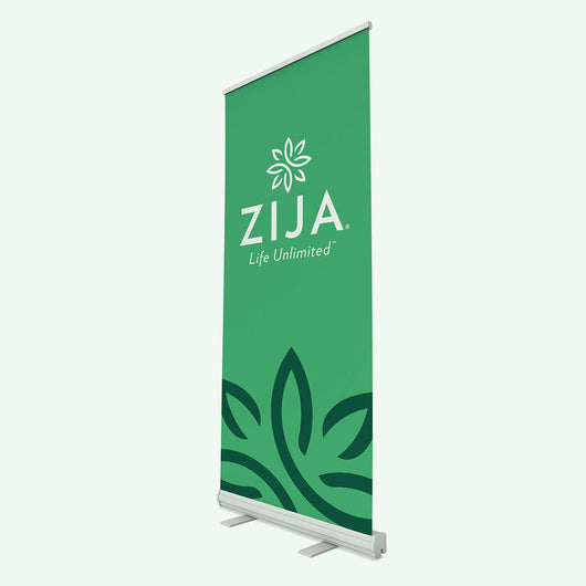 Zija Event Banner - Green