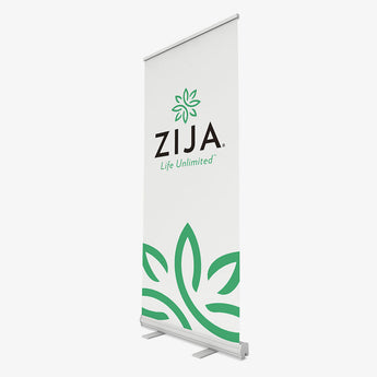 Zija Event Banner - White