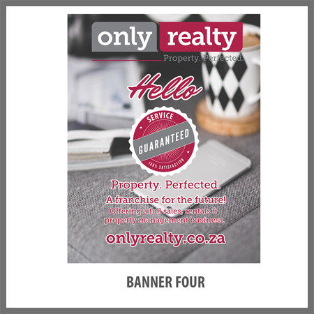 Pull Up Banner - Design Four
