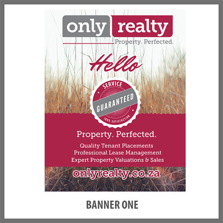 Pull Up Banner - Design One