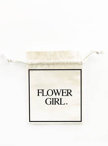 flower girl favour bag bigoudi bigouda