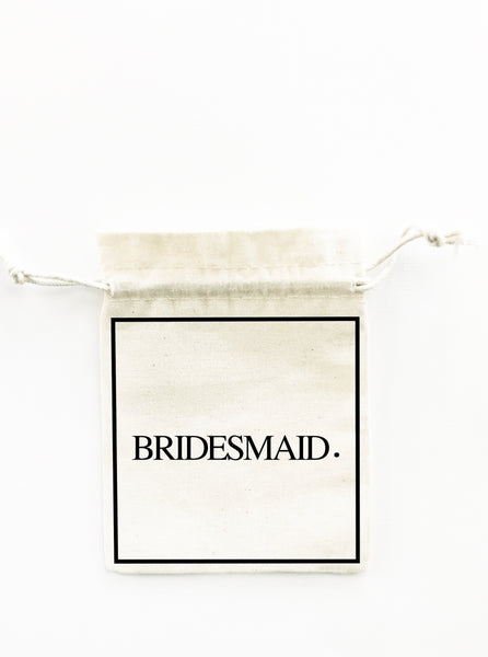BRIDESMAID GIFT BAG BIGOUDI BIGOUDA
