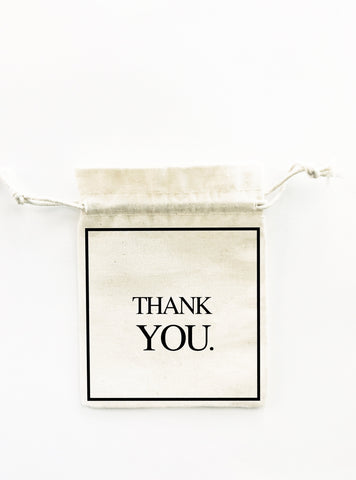 THANK YOU WEDDING FAVOUR BAG
