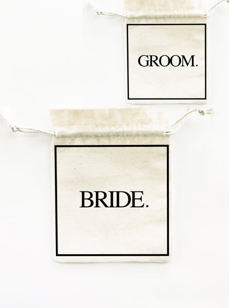 bride groom gift bag bigoudi bigouda