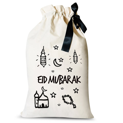 EID MUBARAK LARGE BAG FOR KIDS BIGOUDI BIGOUDA