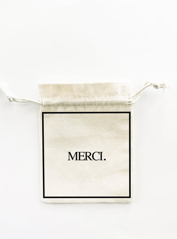 WEDDING FRENCH FAVOUR BAG MERCI BIGOUDI BIGOUDA