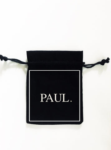 black white groomsman favour bag bigoudi bigouda