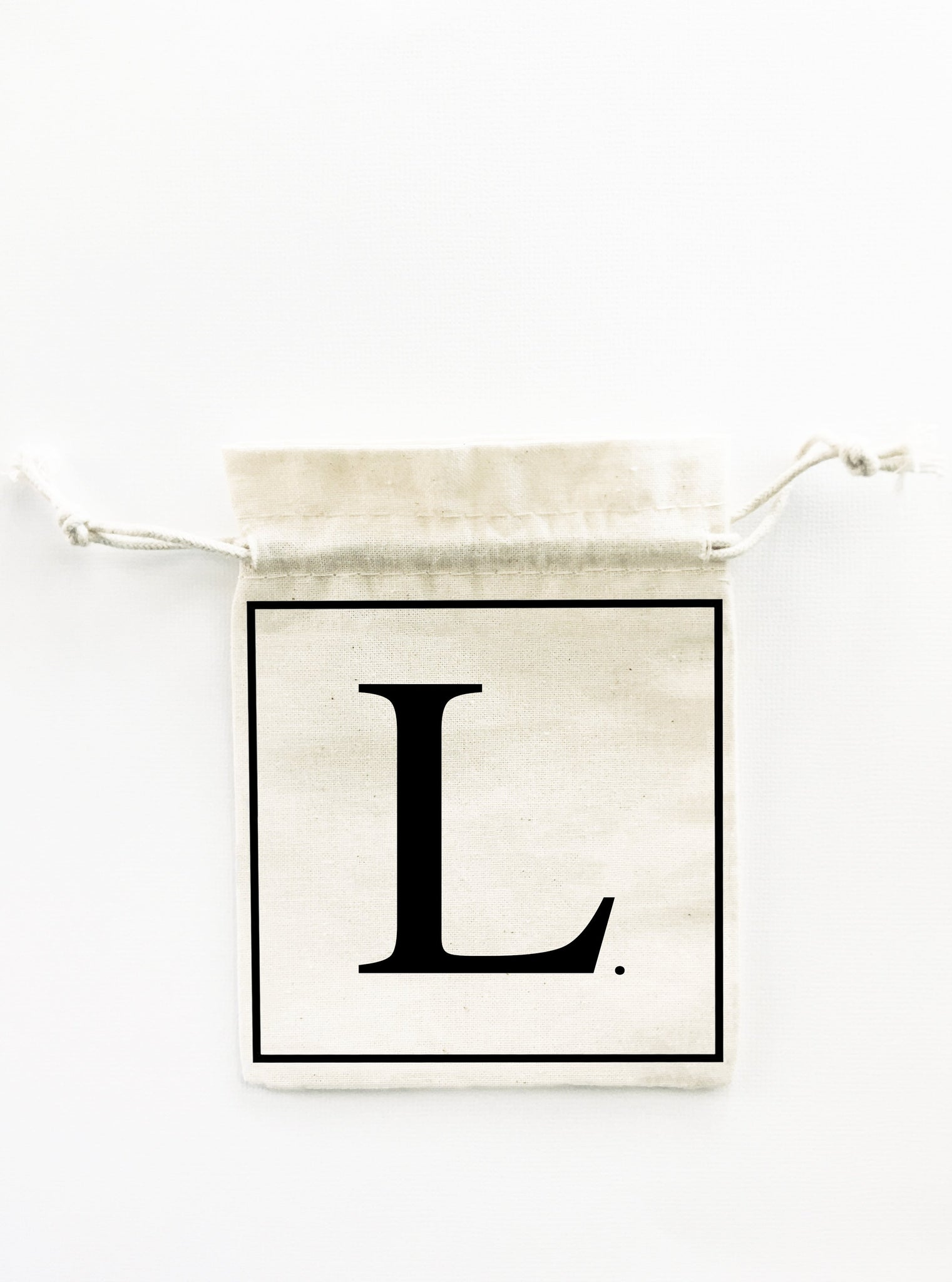 INITIAL. 5x Pack Party Favour Drawstring Bags