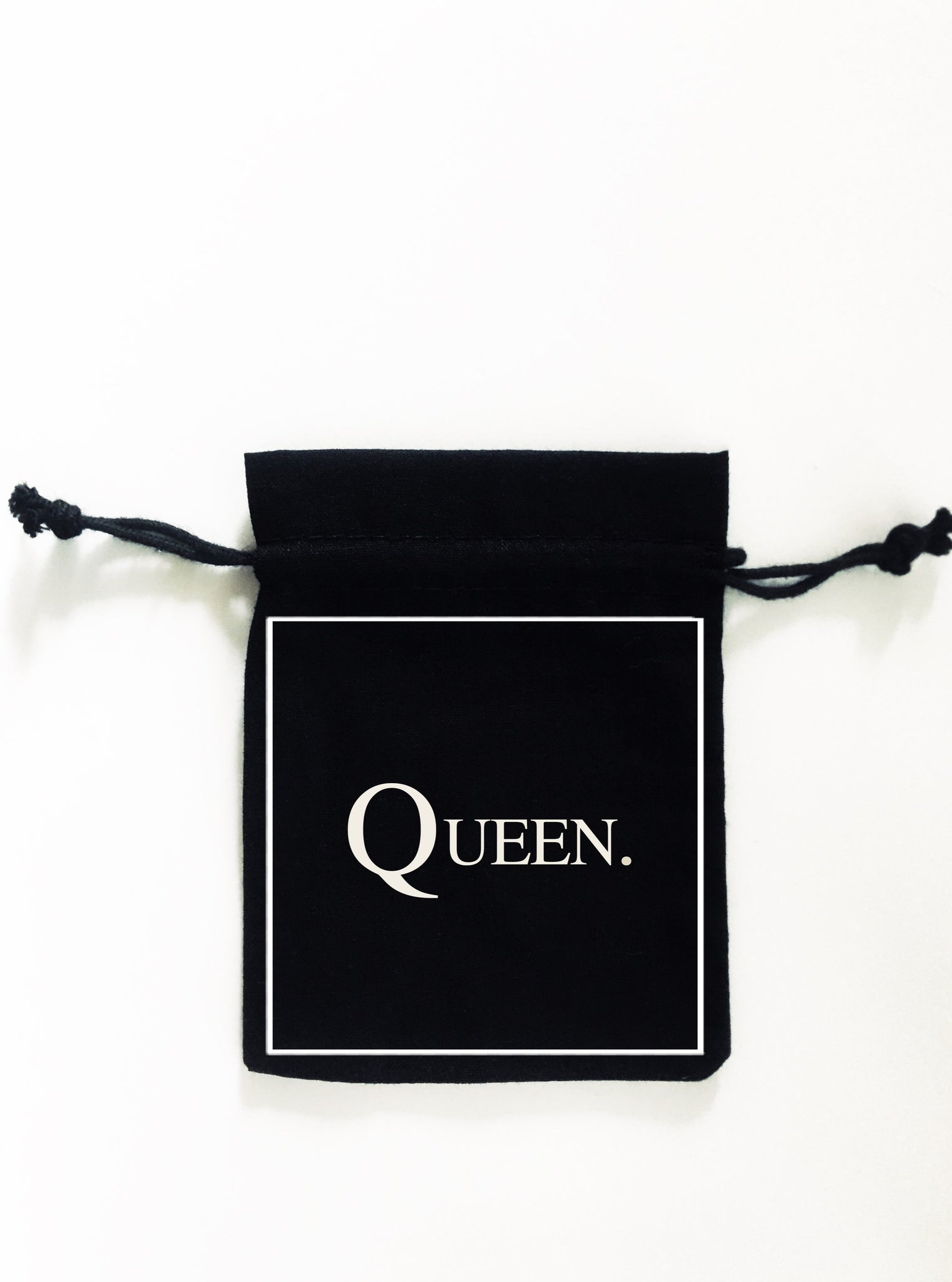 QUEEN. 5x Pack Party Favour Drawstring Bags