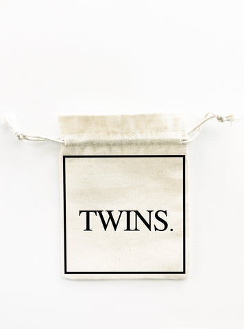 twins baby shower bag bigoudi bigouda