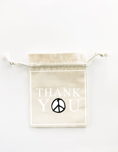 Peace and Love bags