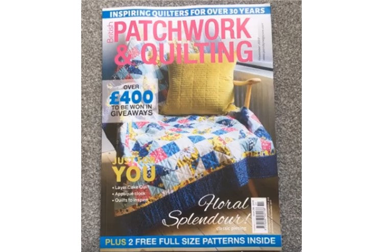 Win a ColourBox with 'British Patchwork & Quilting'
