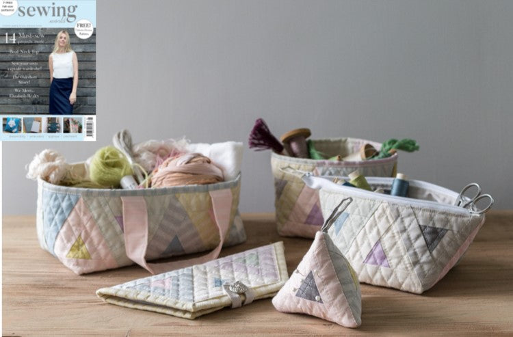 Glamorise your sewing box with this project in Sewing World