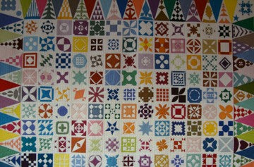 Dear Jane Quilt by Anne Underhill