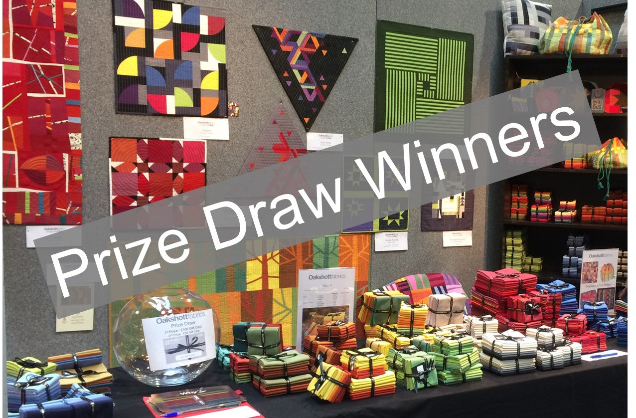 Festival of Quilts Prize Draw Winners