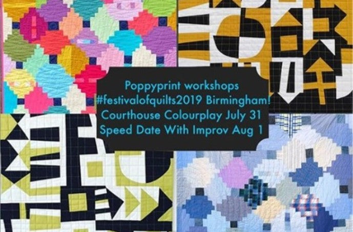 Expert teaching at Festival of Quilts: Krista Hennebury