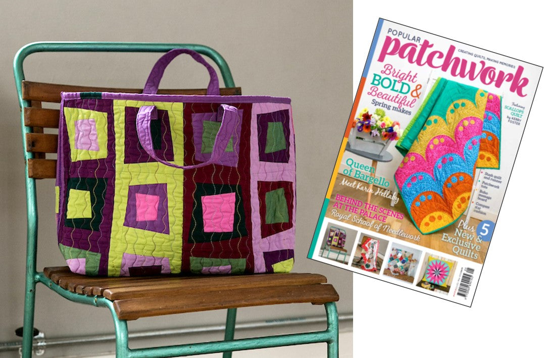 Popular Patchwork - Square Dance Tote