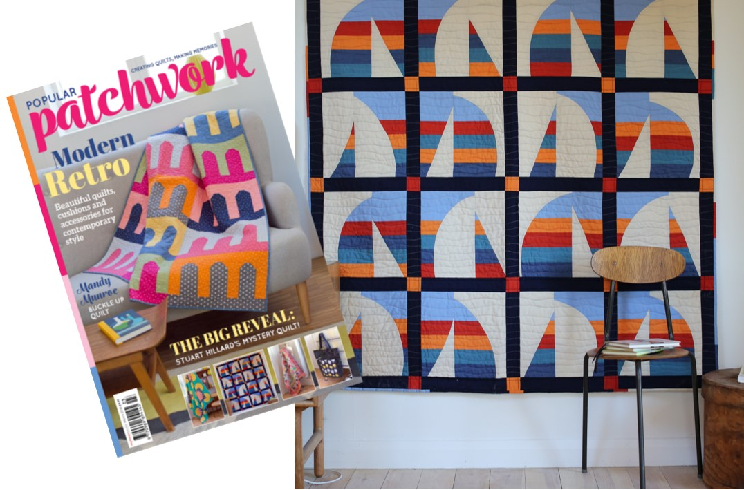 Round the Harbour Quilt_Popular Patchwork magazine