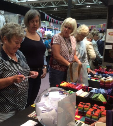Oakshott at the Festival of Quilts