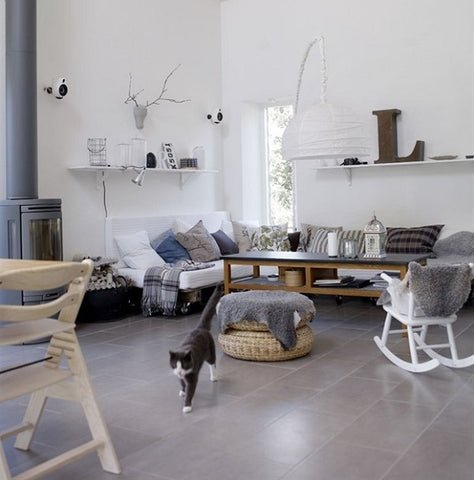 Neutral shades in Scandinavian design