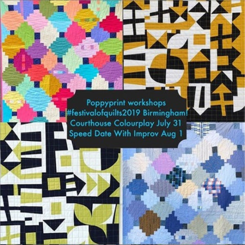 Krista Hennebury @PoppyPrint at Festival of Quilts
