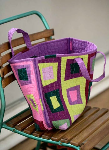 Square Dance Tote by Helen Butcher