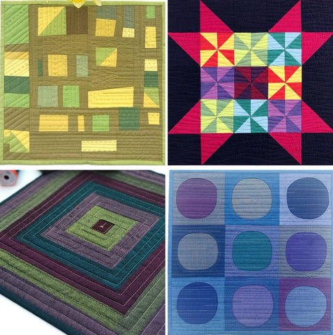 Mini Quilts by Sarah Ashford