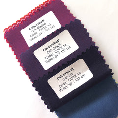 Varietals fabric colours