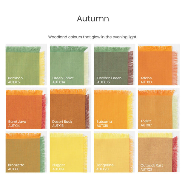 Autumn Colour Swatch PDF