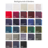 Backgrounds & Borders Colour Swatch PDF