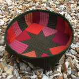 Star Bright Bowl Ruby Reds by Helen Butcher