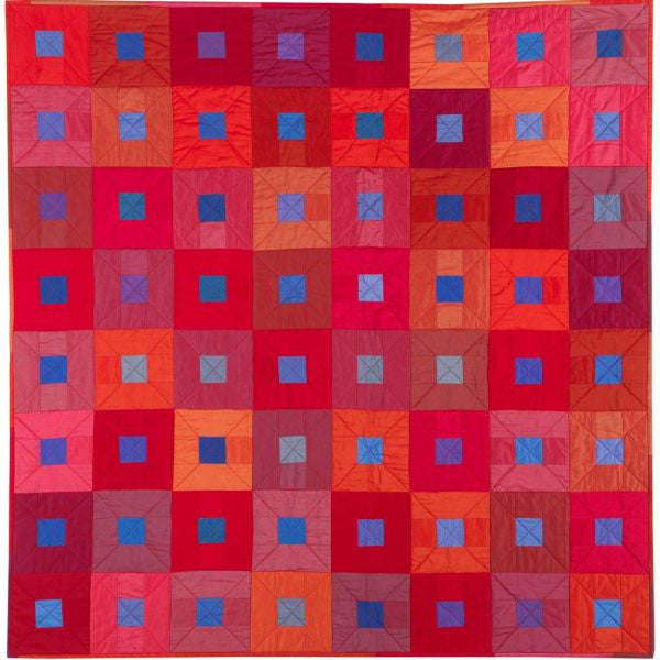 City Lights Ruby Reds Quilt