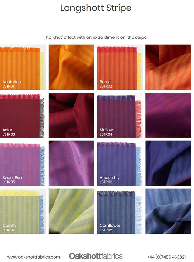 Longshott Stripe Colour Swatch PDF