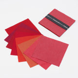 "Ruby Reds 5"" Charm Pack 8 Colours"
