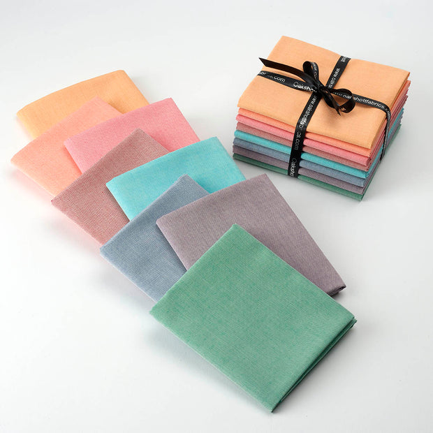Sorbet Fat Quarter Pack 8 Colours