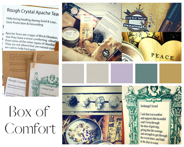 BOX OF COMFORT by The Magical Shop of Enlightenment
