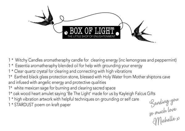 BOX OF LIGHT by The Magical Shop of Enlightenment