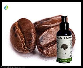 Coffee Hair & Body Wash (3,4 oz) | NATURAL COSMETIC UAE