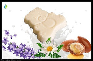 Goats Milk and Lavender Baby Soap | Natural Cosmetics UAE
