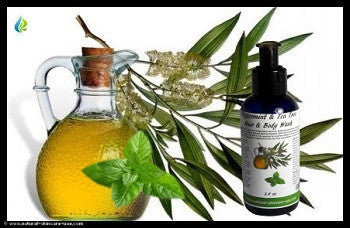 Peppermint & Tea Tree Hair & Body Wash (3,4 oz) | NATURAL COSMETIC UAE