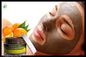 Rhassoul paste masque with Orange Blossom | NATURAL COSMETIC UAE